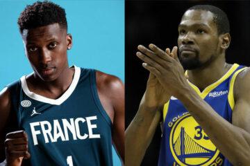 Frank Ntilikina Kevin Durant NBA