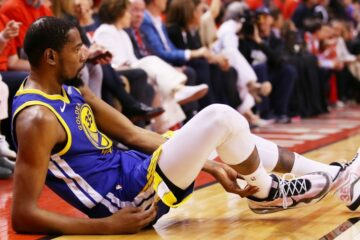 Blessure Kevin Durant