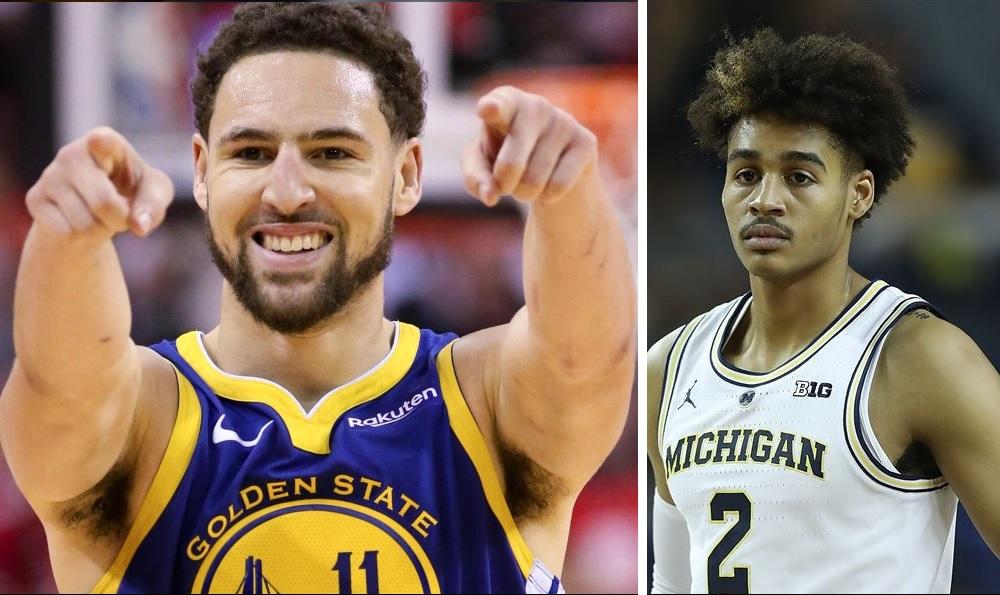 NBA - Le nouveau rookie des Warriors se sert de Klay Thompson pour essayer de séduire Zendaya