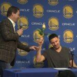NBA – Quand Klay Thompson zappe son proprio pour les nouveaux vestiaires