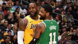 NBA – La preuve implacable qui dégomme l'attaque de Kyrie contre LeBron