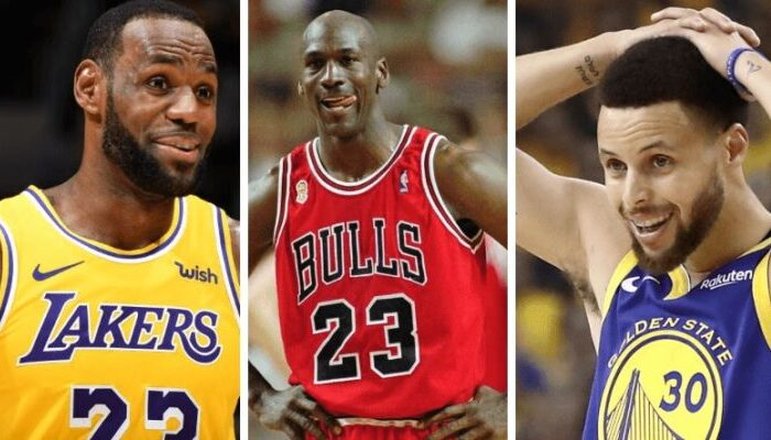 LeBron Jordan Curry
