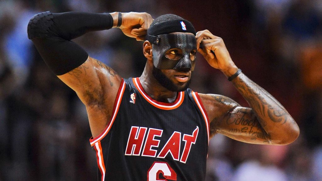 LeBron James Mask