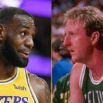 NBA – Pourquoi LeBron James respecte Larry Bird par dessus tout
