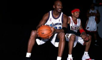 Allen Iverson Michael Jordan
