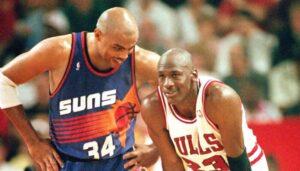 NBA – Comment Charles Barkley a fait rire Michael Jordan en plein match
