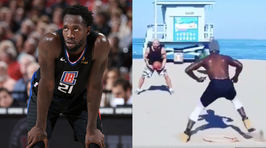 Patrick Beverley entrainement workout timberland