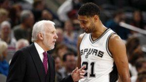 NBA – La réponse sauvage de Tim Duncan à Gregg Popovich en plein temps-mort