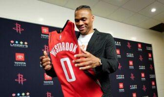 Début Russell Westbrook Rockets