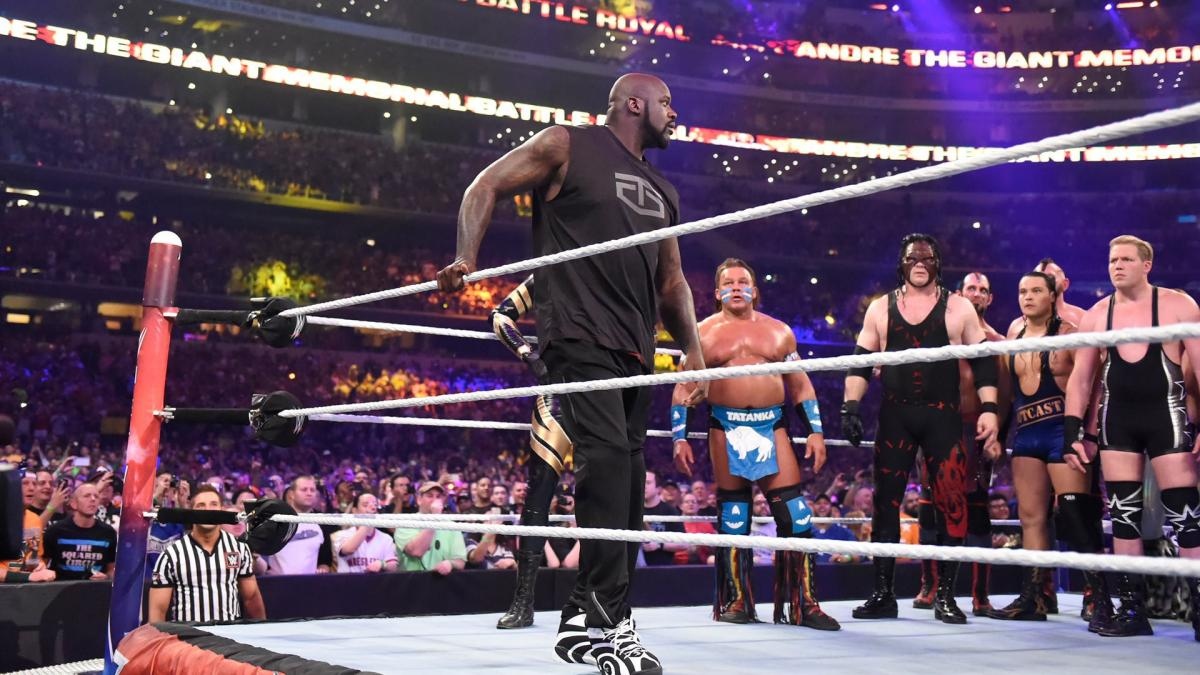 Shaquille O'Neal WWE