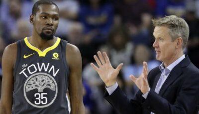 NBA – KD s'offusque d'une phrase détournée de Steve Kerr, le coach s'agace