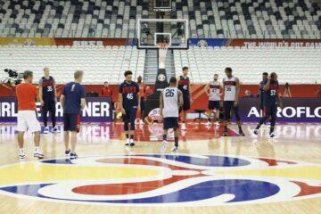 Team USA entraînement