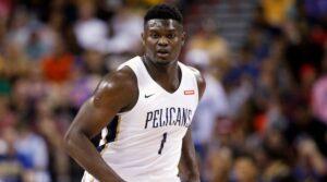 NBA – Restriction de minutes pour Zion Williamson