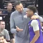 NBA – Buddy Hield provoque son GM Vlade Divac sous ses yeux