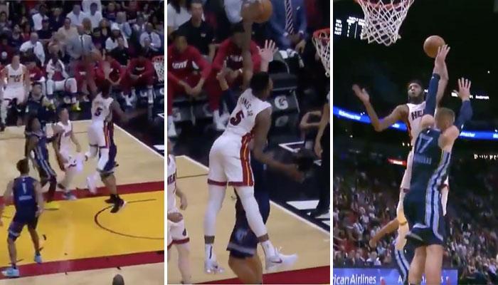 Derrick Jones Jr du Heat offre le premier poster de la saison
