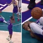 NBA – La drôle d'action où on a mal pour Donovan Mitchell