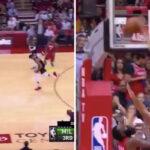 NBA – L'énorme contre de Giannis Antetokounmpo sur James Harden !
