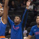 NBA – L'invité spécial à l'entraînement des Knicks