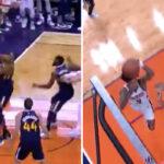 NBA – Kelly Oubre Jr dunke sur Rudy Gobert !