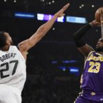 NBA – Les Français de la nuit : Ce n'est pas la fête chez Rudy Gobert, chez les autres non plus