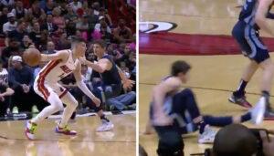 NBA – Tyler Herro met Grayson Allen sur les fesses !