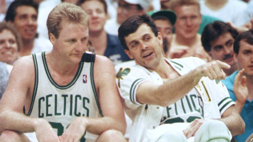 Larry Bird Kevin McHale
