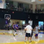 NBA – LeBron fait le buzz avec un tir ultra-clutch à l'entraînement !