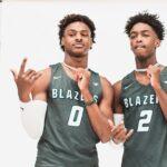 NBA/High School – Bronny James et Zaire Wade plantent leur premier panier de la saison