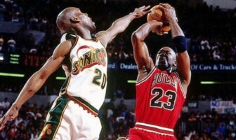 Gary Payton Michael Jordan