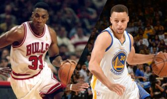 Scottie Pippen Steph Curry