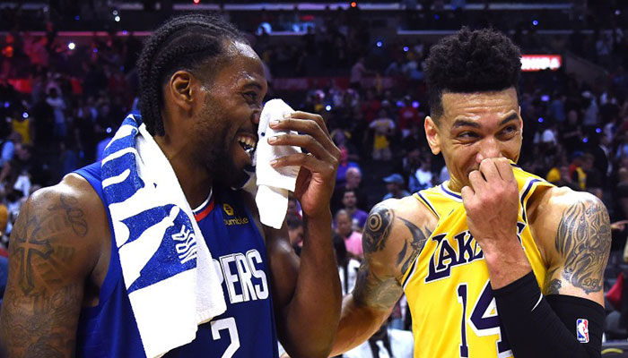 Danny Green record Lakers Clippers