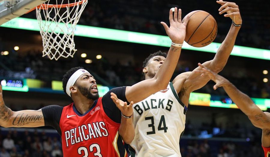 Anthony Davis Giannis Antetokounmpo