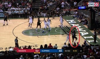 Harden trois points clippers