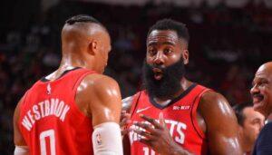 NBA – Les Rockets lancent le bras de fer contre Harden et Westbrook