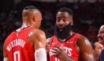 Russell Westbrook et James Harden s'expliquent après un malentendu