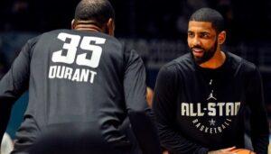 NBA – Kevin Durant révèle ce qui le fait le plus kiffer chez Kyrie Irving
