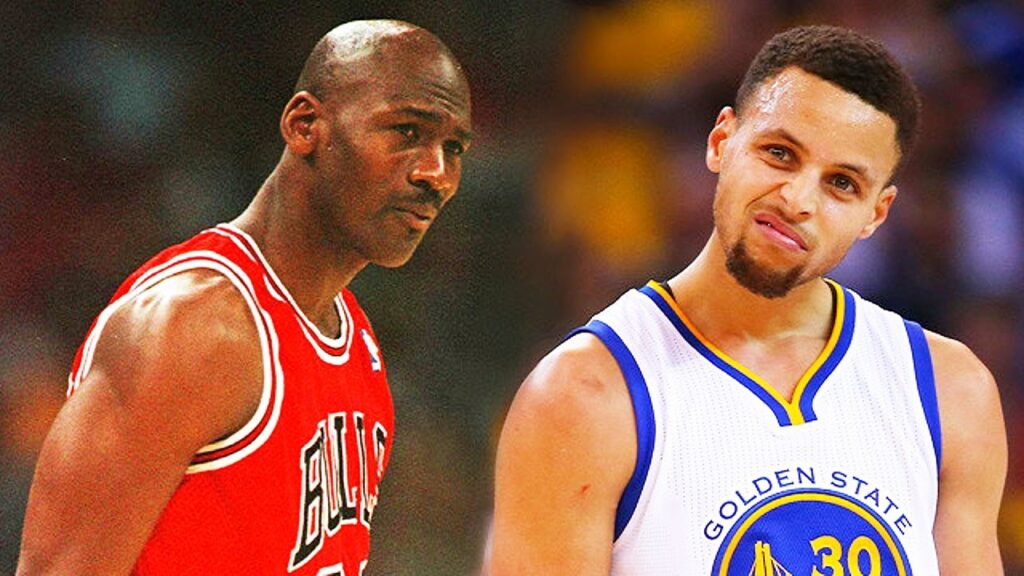 Michael Jordan Steph Curry