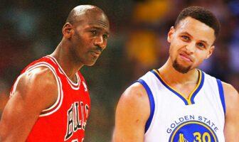 Michael Jordan Steph Curry