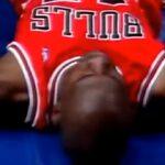 NBA – La mauvaise chute qui aurait pu briser la carrière de Michael Jordan en 1995