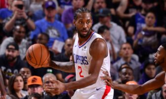 Kawhi Leonard des Los Angeles Clippers