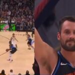 NBA – La grosse réaction de Kevin Love au premier 3 points en carrière de Tristan Thompson