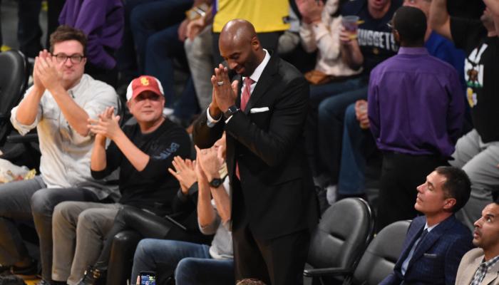 Kobe Bryant remercie les fans des Lakers