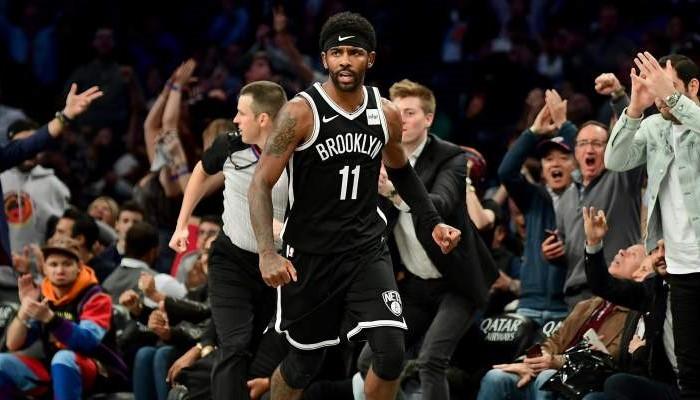 Kyrie Irving établit un nouveau record de franchise pour les Nets