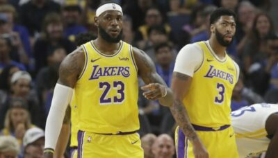 NBA – L'incroyable constat d'analystes sur LeBron James et Anthony Davis