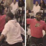 High School/NBA – LeBron et Wade en feu après une action entre Bronny et Zaire !