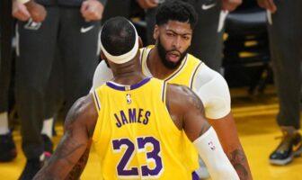 5 majeur Lakers