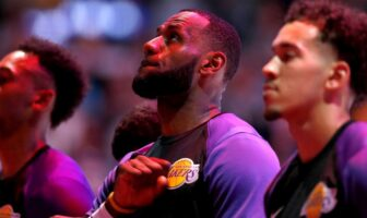 LeBron James leader Chine