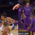 NBA – LeBron James sans aucun respect pour le rookie des Warriors