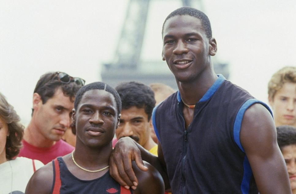Michael Jordan frère Larry