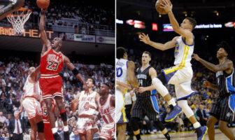 Michael Jordan Stephen Curry
